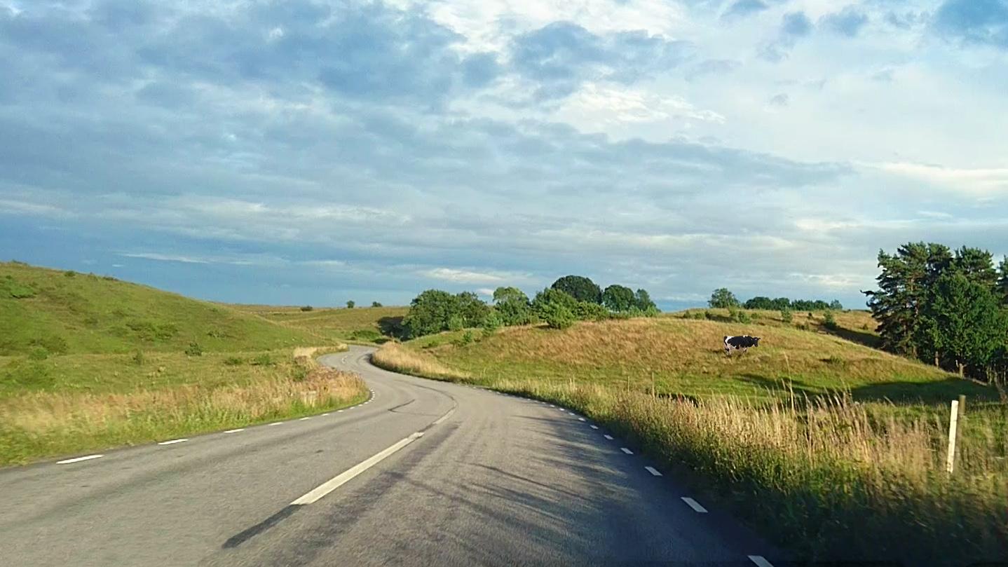 Sveriges vackraste bilväg?
